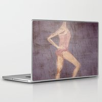 ballerina Laptop & iPad Skins featuring Ballerina by visualz