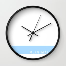m_inimal Wall Clock