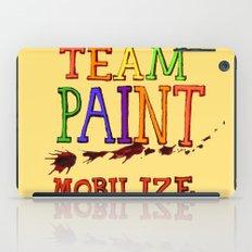 TEAM PAINT MOBILIZE iPad Case