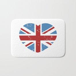 VINTAGE BRITISH LOVE Bath Mat
