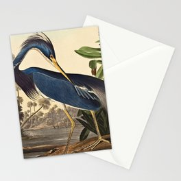 John James Audubon - Louisiana Heron Stationery Cards