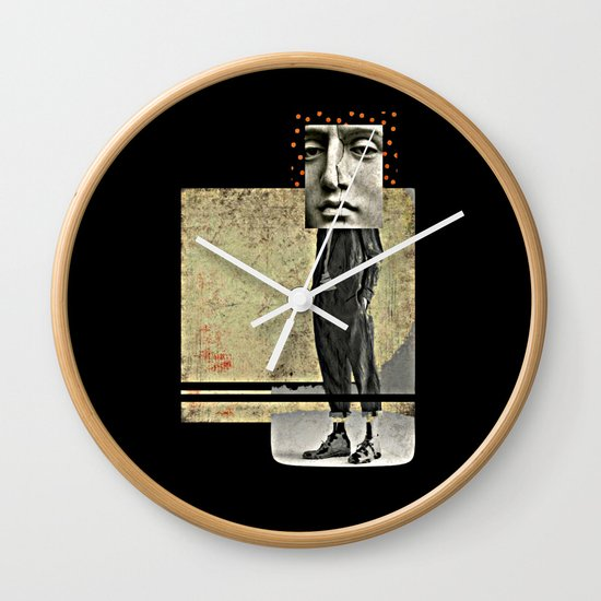 Maverick      by Studio Judith Wall Clock