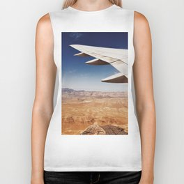 Flight Over Vegas Biker Tank