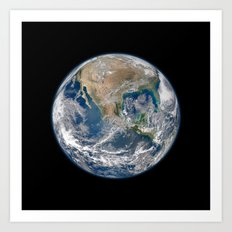Earth Art Print