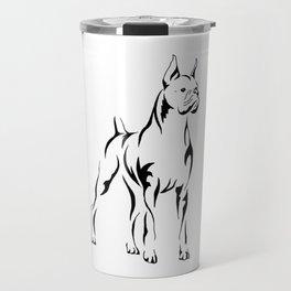 Boxer Tribal Travel Mug
