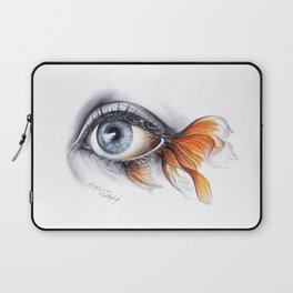 All I See is a Sea Laptop Sleeve