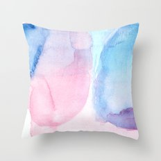 color interaction 2 Throw Pillow