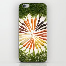 Carrot Color Wheel iPhone Skin