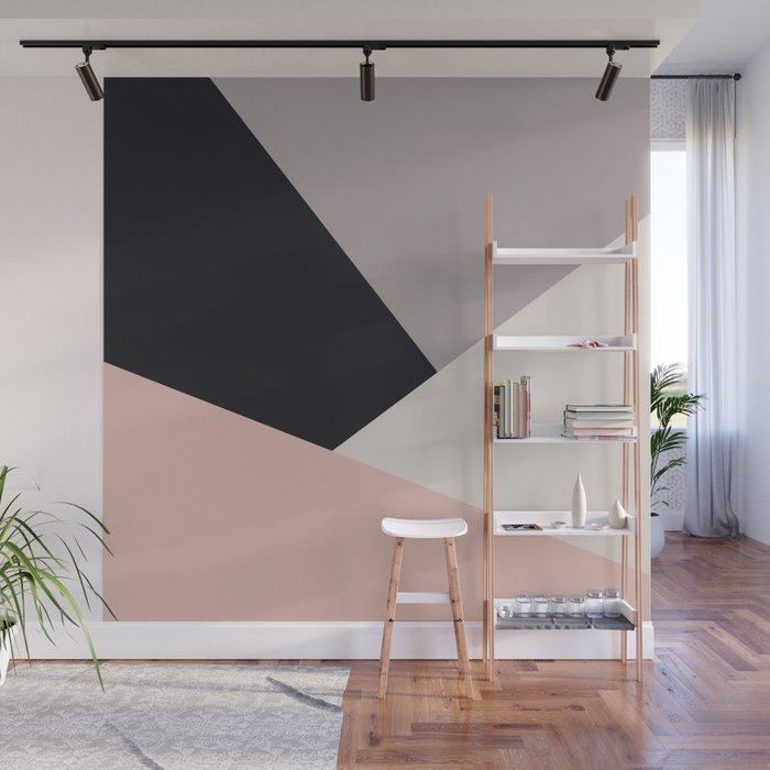Wall Mural | Elegant & Colorful Geometric by Naughtycat - 8' x 8' - Society6