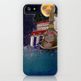 Full Moon Castle iPhone Case