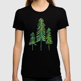 Pine Trees – Green Palette T-shirt