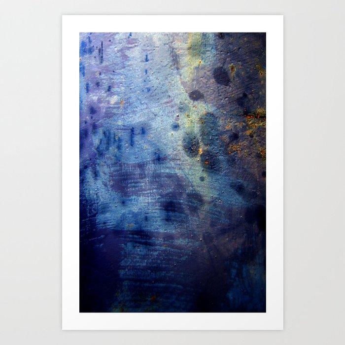 Blurple Art Print