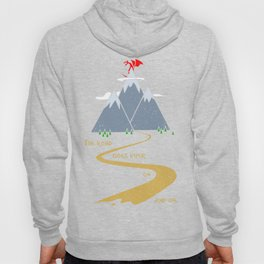 The road goes ever on & on Hoody