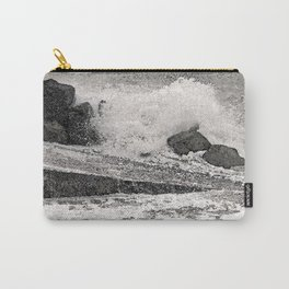 Angry Sea I Carry-All Pouch