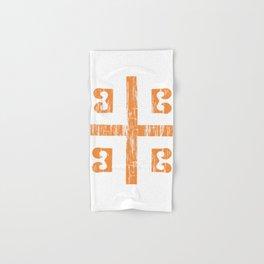 Byzantine Cross Hand & Bath Towel