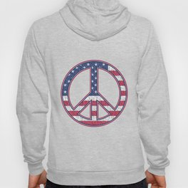 The Symbol of Peace and the United States of America Hoody