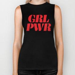 Girl Power GRL PWR Biker Tank