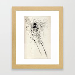 Supplicating Framed Art Print