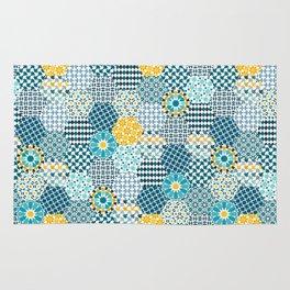 Spanish Tiles of the Alhambra Rug