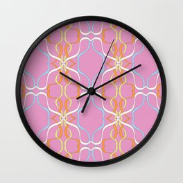 Ribbon swurl Wall Clock