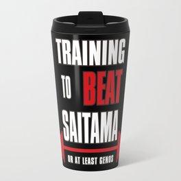 Training to beat saitama Travel Mug