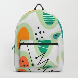 Mid-century abstraction Backpack