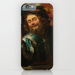 "Gerard van Honthorst ""The Merry Fiddler"" iPhone Case"