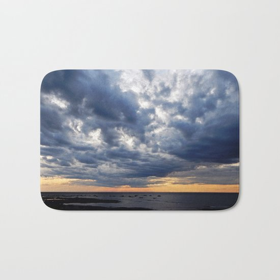 Clouds on the Sea Bath Mat