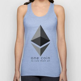 Ethereum : one coin to rule them all Unisex Tank Top