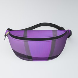 Creative purple pattern Fanny Pack