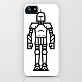Cartoon Knight iPhone Case
