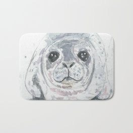 Big baby seal Bath Mat