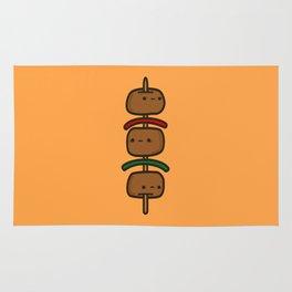 tasty kebab Rug