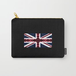Union Jack - British Flag - Tribal Style Carry-All Pouch