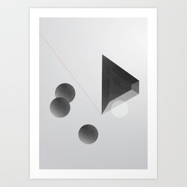 Space one Art Print