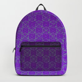 D20 Heathen Crit Pattern Premium Backpack