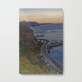 Sea-Cliff Bridge - Stanwell Tops Metal Print