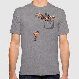 Pocket Red Panda Bears T-shirt