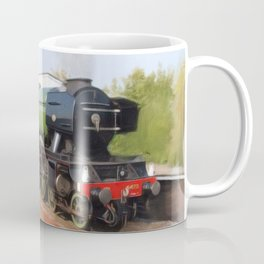 Flying Scotsman, Steam Engine Coffee Mug