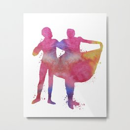 Ballet dancer Metal Print
