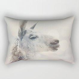 Alpaca in Machu Picchu Rectangular Pillow