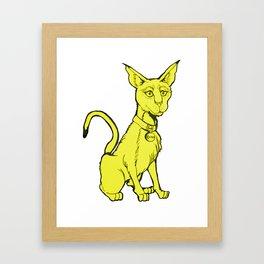 Cairo Killa Cat  Framed Art Print