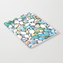 PEBBLES ON THE BEACH Notebook