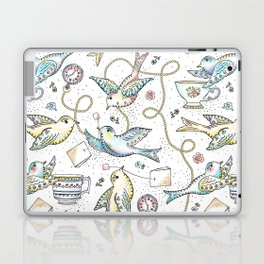 Twittering Tea Party Laptop & iPad Skin