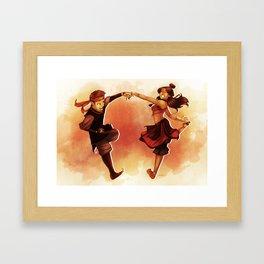 Kataango Fire Framed Art Print