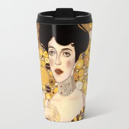 The golden Adele Travel Mug