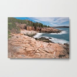 Acadia National Park - Thunder Hole Metal Print