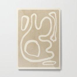 Abstract line art 71 Metal Print