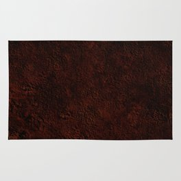 Chocolate powder Rug