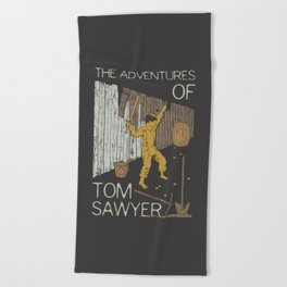 Books Collection: Tom Sawyer Beach Towel